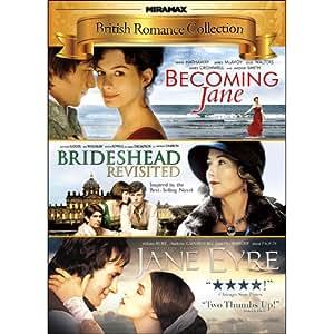 Miramax British Romance Collection: Becoming Jane/Brideshead Revisited/Jane Eyre