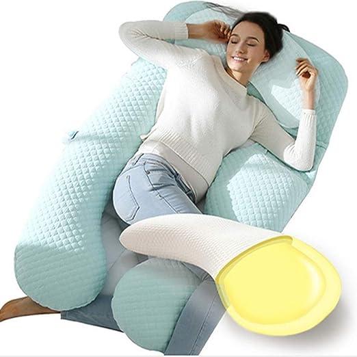 Almohada para mujeres embarazadas, lado de la cintura ...