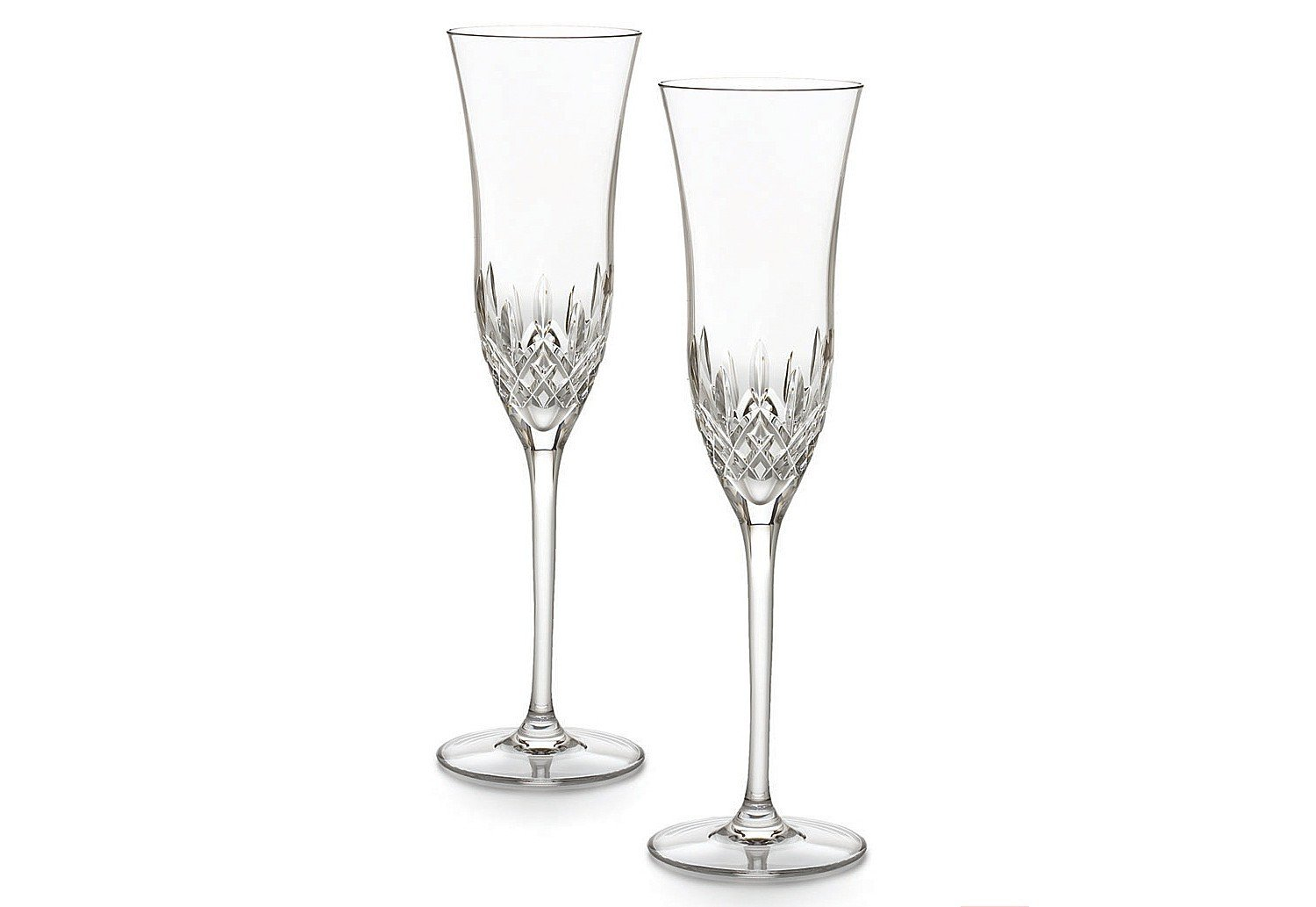 Waterford Crystal Lismore Essence Champagne Flute, Set of 2 143783