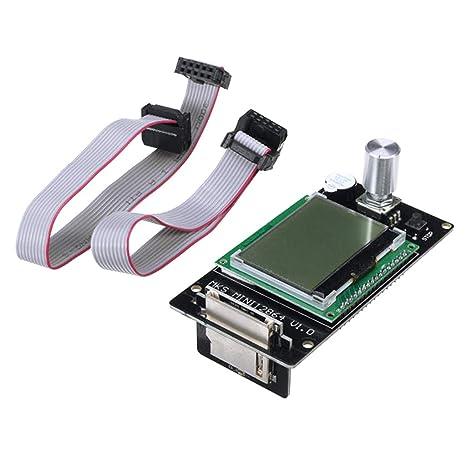 SM SunniMix MKS Mini 12864 Controlador LCD Ranura Tarjeta SD ...