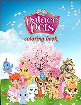 Palace Pets Coloring Book Great Coloring Pages For Kids Mr Akim