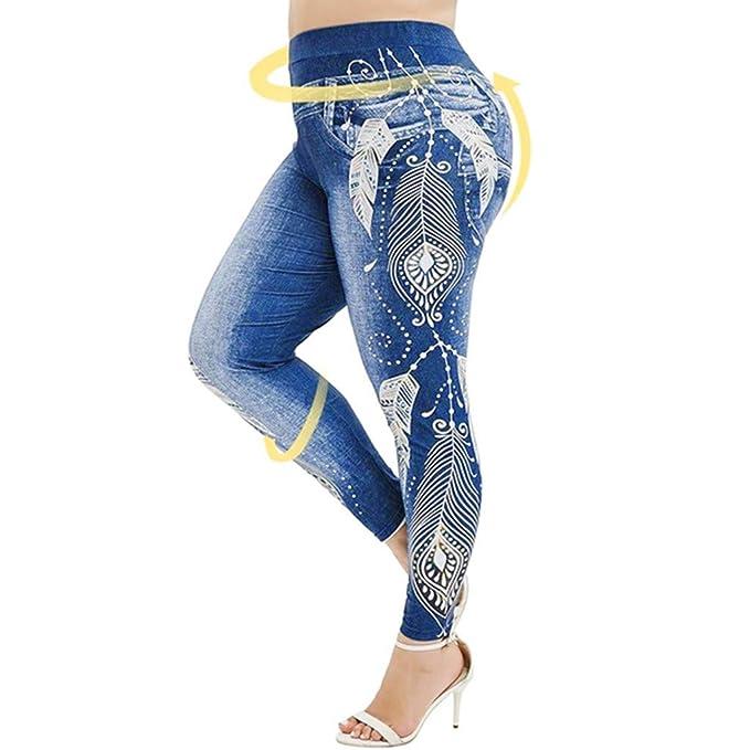 cinnamou Pantalon Yoga Mujer, Leggins Pantalones Largos ...