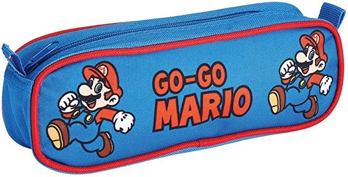 Cartuchera de Super Mario Bros: Amazon.es: Oficina y papelería