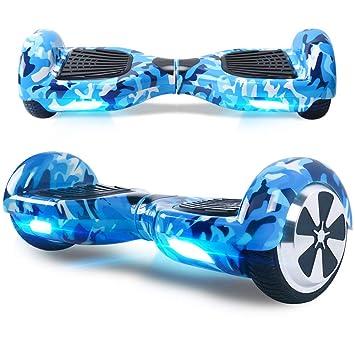 TOEU Hoverboard 6.5 Pulgadas, Self Balancing Scooter Patinete Eléctrico Scooter con Bluetooth, Motor 250W * 2 con Bluetooth CE Certificado
