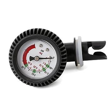 Qiman Conector Termómetro de medidor de Presión de Aire para ...