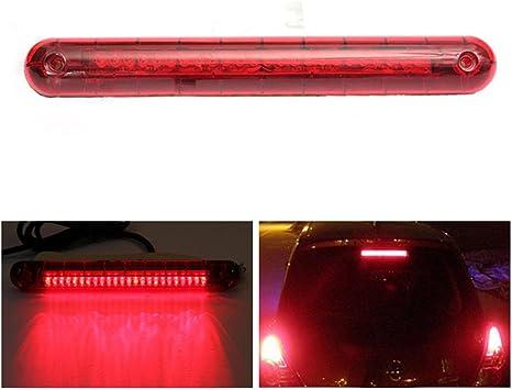 Vigorflyrun Parts Ltd Led Universal Bremslicht Auto Zusatzbremsleuchte Suv Auto 12v 24 Rot Led High Mount Dritte Autozubehör 3 Bremsleuchte Brems Rücklicht Lampe Auto