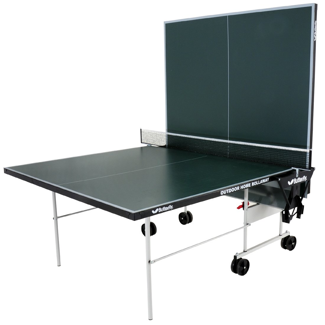 Butterfly Outdoor Home Rollaway Table Tennis Table   Green: Amazon.co.uk:  Sports U0026 Outdoors