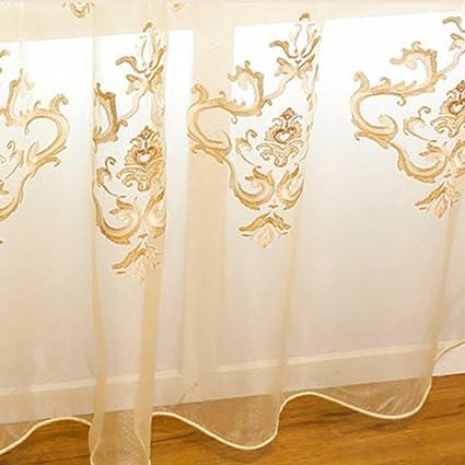 QPGGP Tende Stanza Da Letto Moderna In Stile Europeo Tenda Moderna In Tinta  Unita Tenda Da