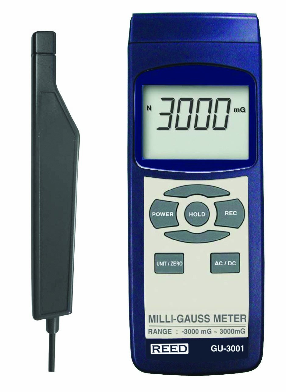 REED Instruments GU-3001 Electromagnetic Field (EMF) Meter by REED Instruments