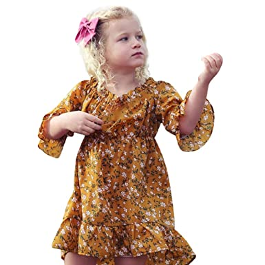 8b84ef8d11 Girls Casual Dress for 1-4Years