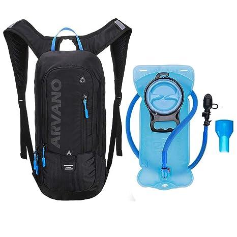f8ba2c0b765 6L Mini Biking Backpack Waterproof, Jarvan Hydration Pack with 2L Backpack  Water Bladder Cycling Ski