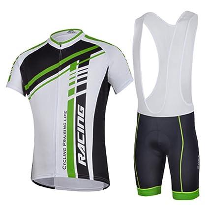 Amazon.com  sponeed Mens Bicycling Bibs Bike Bib Suit Team Cycling ... 0430ac106