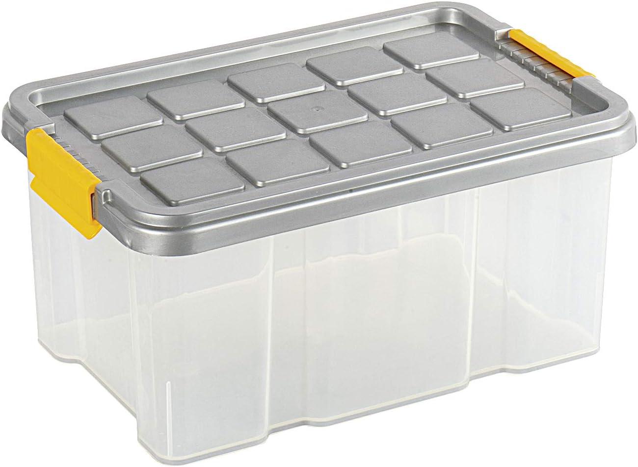 RIVAL Euro Cajas con Tapa (30 x 19 x 14 cm: Amazon.es: Hogar