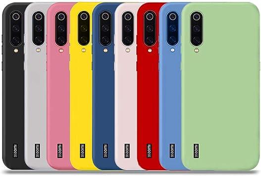 YiKaDa - 9 x Funda Xiaomi Mi A3, Cárcasa Suave Silicona TPU ...