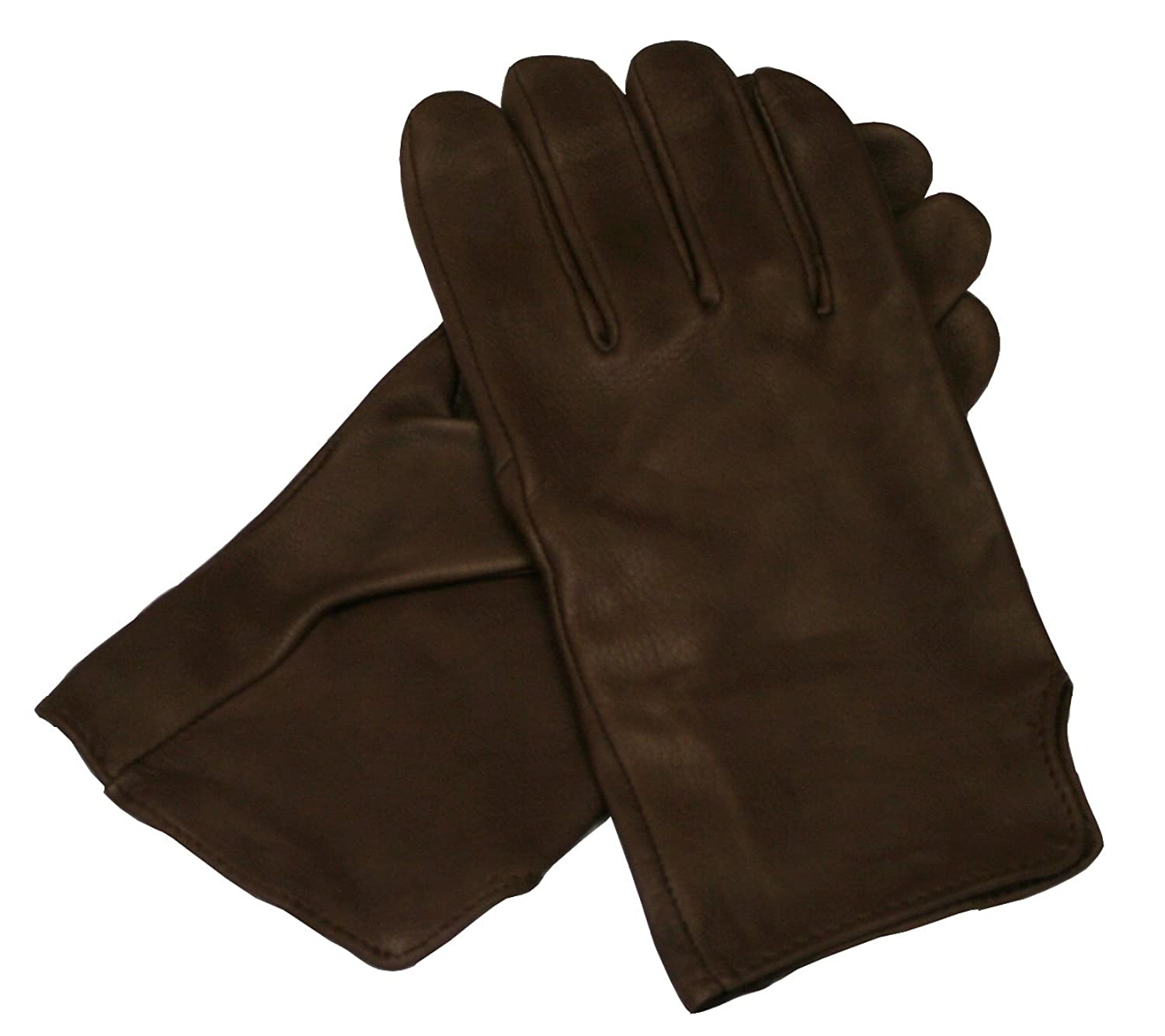 Edwardian Men's Accessories Victorian Leather Brown or Black Dress Gloves $52.95 AT vintagedancer.com
