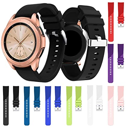 4a68d817c Soft Silicone Sporty Heavy Duty Watch Band - for Samsung Galaxy Watch 42mm  with Quick Release