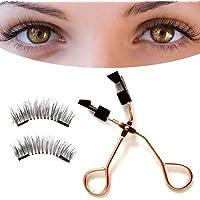 Magnetic Eyelashes Curler Set Quantum Soft Magnetic False Eyelashes with Eyelashes Clip
