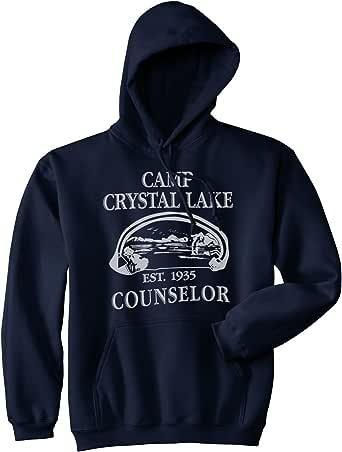 Drewbacca Girls Camp Crystal Lake Hoodie Black 7-8 Years