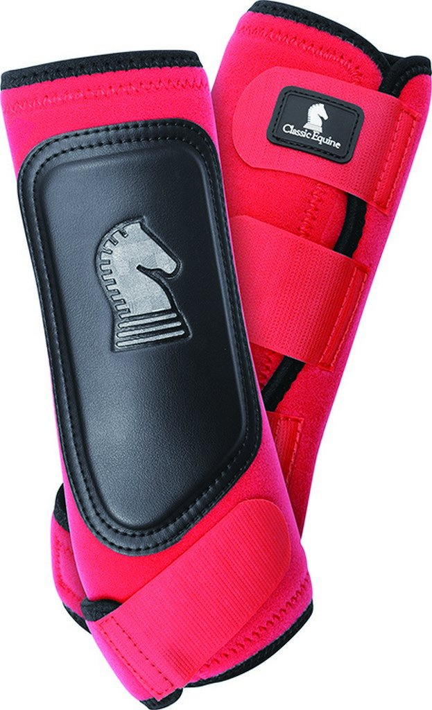 Classic Rope Company Cross Fit Boot Hind Red Large