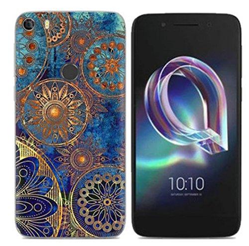 PREVOA Funda para Alcatel Idol 5 - Colorful Silicona TPU Funda Case para Alcatel Idol 5 Smartphone - 3 17