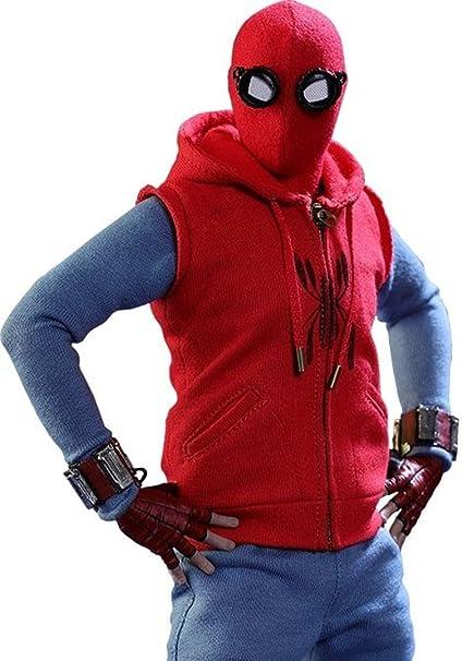 Amazon.com: Spider Man Homecoming - Chaleco con capucha ...