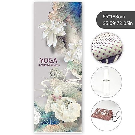 SNIIA Toalla de Yoga, Microfibra Antideslizante Toalla de ...