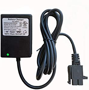 FULIHUA 12 Volt B-Type Plug Kids Ride On car Battery Charger,12V Adapter for Special Children Electric Ride On Toy RC Car Battery Power Adapter
