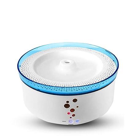Jlxl Fuente de Agua para Mascotas Fuentes Inteligentes Agua de circulación automática Perros Alimentación Bebedor Bebedor de Gato: Amazon.es: Productos para ...