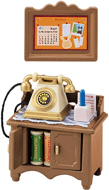 シルバニアファミリー リビングルーム 電話台セット カ-501