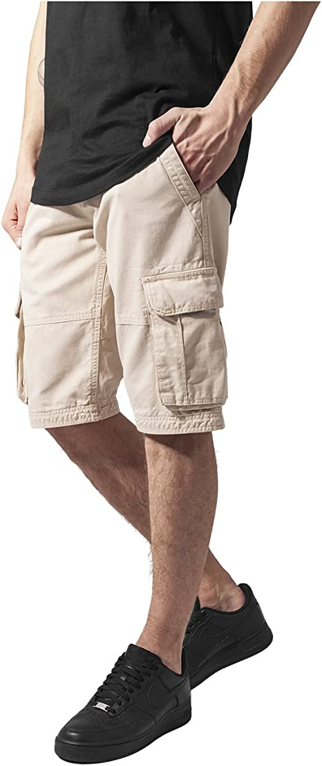 TALLA XS. Urban Classics Fitted Cargo Shorts Pantalones Cortos para Hombre