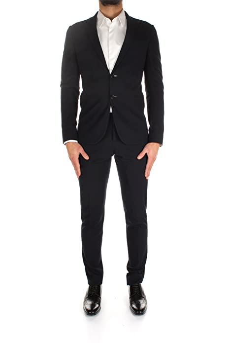 858bff5ce Armani - Traje - para hombre azul Size  52  Amazon.es  Zapatos y  complementos