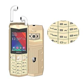 Peedeu - Teléfono móvil con botón Grande para Personas ...