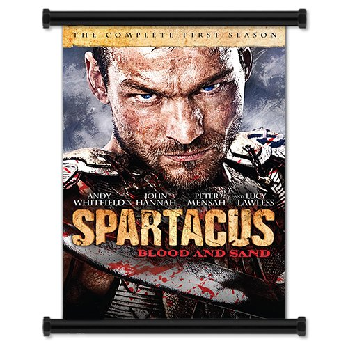 Spartacus: Blood And Sand TV Show Season 1 Fabric Wall Scroll Poster (16
