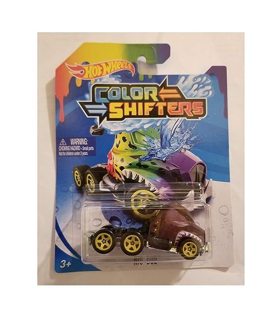 Amazon.com: Hot Wheels Color Shifters Rig Dog 2018: Toys & Games