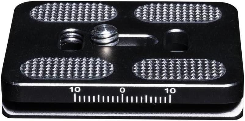 50 mm schwarz Mantona Schnellwechselplatte Arca Swiss