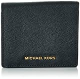 MICHAEL Michael Kors Women's Jet Set Carry All Card Case, Black, One Size