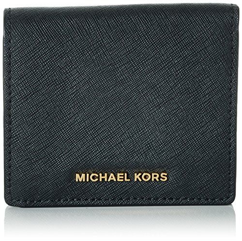 Michael Michael Kors Womens Mk Jet Set Travel Leather Wallet