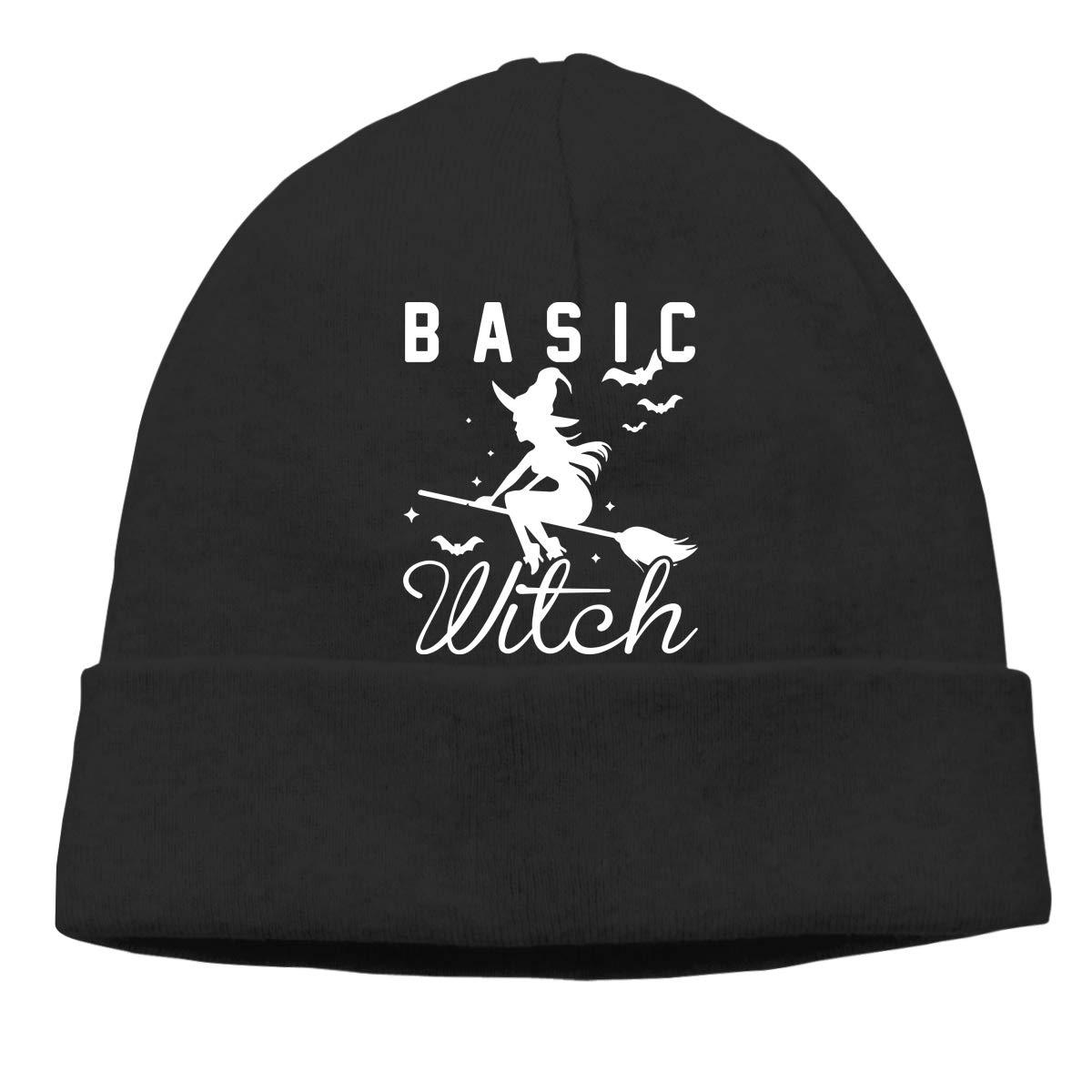 GDSG5/&4 Basic Witch Halloween Unisex Thick Surf Beanie Skull Cap