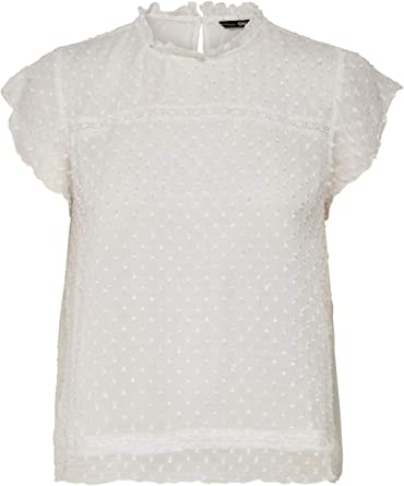 Only Onlnew Cat S//L Top Wvn Noos Blusas para Mujer