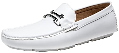 JOUSENLeather Loafer Slip-On Driving Shoes - Mocasines para Hombre Hombre: Amazon.es: Zapatos y complementos