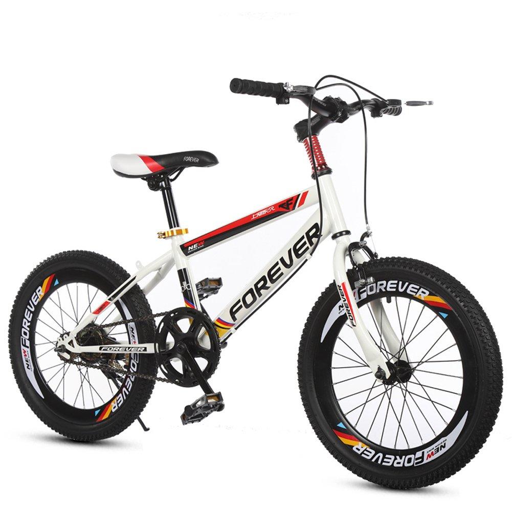 経典 CHS@ : ユニセックス子供用自転車ダートバイクステアリング自転車18/20インチ学生のマウンテンバイクシングルスピード 子ども用自転車 (色 : Red, サイズ 子ども用自転車 20\ さいず : 20