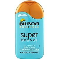 Bilboa Superbronzen crème, krachtige formule met idrabrons en bèta-arotine, verlengt de bruining en hydrateert…