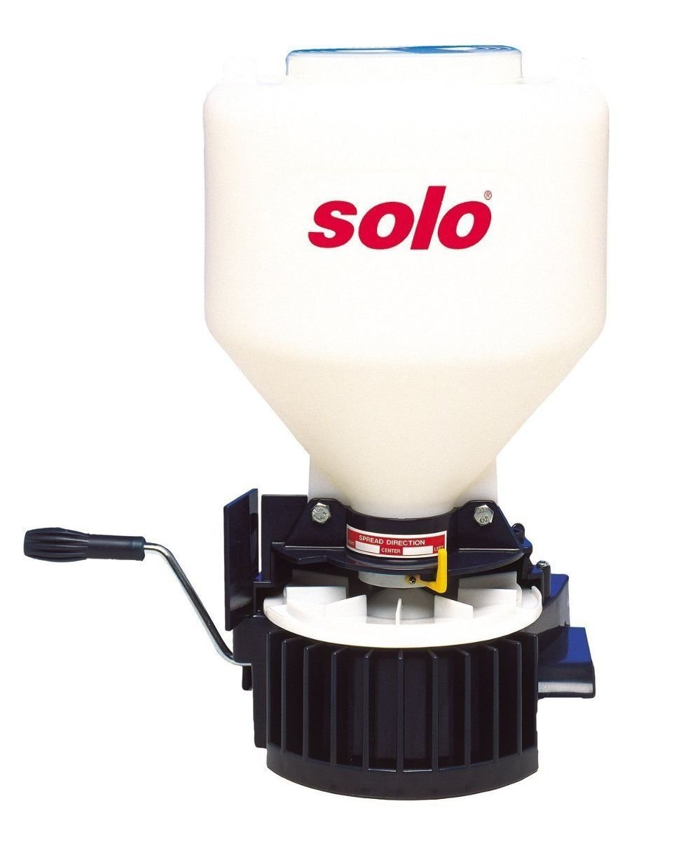 Solo 421 20lb Chest-Mount Portable Broadcast Fertilizer Spreader