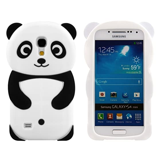 b7e28b4933bf Samsung Galaxy S4 Mini I9190,Anya 3D Cute Bow Superhero Series Style  Cartoon Soft Rubber Silicone Back Shell Case Cover Skin for Samsung Galaxy  S4 ...