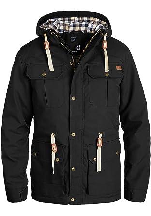 c1e2c146ca91 Solid Chara Herren Übergangsjacke Herrenjacke Jacke Mit Kapuze, Größe L,  Farbe