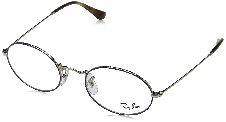51e3d5e491ad1 Amazon.com  Ray-Ban Unisex RX3547V Oval Eyeglasses Arista 48mm  Clothing
