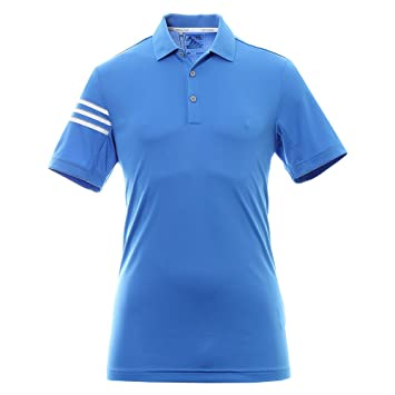 adidas Climacool 3 Stripes Club Crestable Camiseta Polo de Manga Corta de Golf, Hombre: Amazon.es: Deportes y aire libre