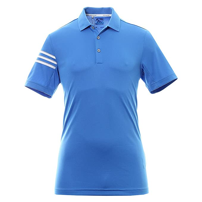 adidas Climacool 3 Stripes Club Crestable Polo Golf, Hombre ...