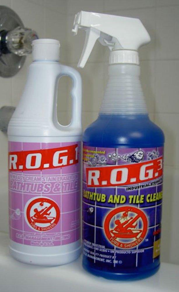 Amazon.com: Express R.O.G. Tub and Tile Bathtub Cleaner Starter Kit ...