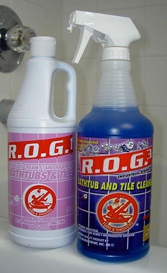 Express R.O.G. Tub And Tile Bathtub Cleaner Starter Kit